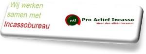 Wij werken samen met Pro Actief Incasso